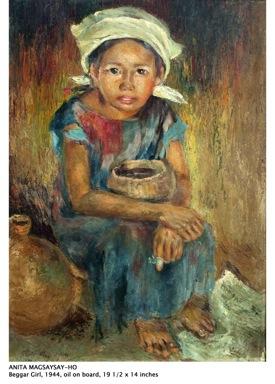 36anita-magsaysay_ho_beggar-girl1944 - Artist Anita Magsaysay-Ho dies at 97 - Lifestyle, Culture and Arts