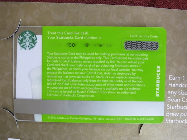 The Starbucks Card Soon to Be Launched | Heart-2-Heart-Online.com