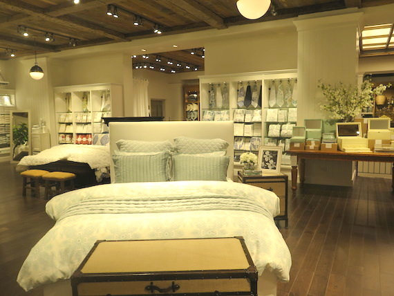 Welcome home pottery barn heart 2 heart - Interior designer discount pottery barn ...