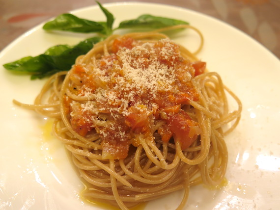 Vegetable Bolognese Pasta by Nicole's Kitchen 4