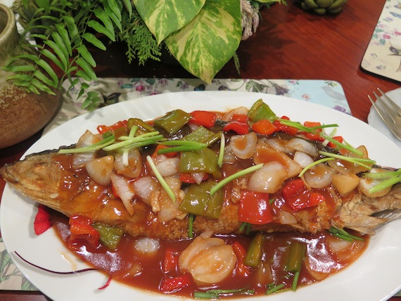 sweet and sour bangus