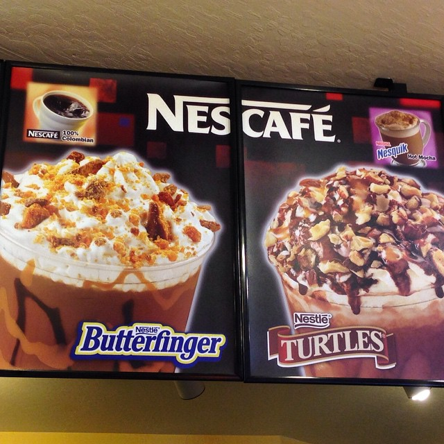 Butterfinger and Turtles drink at Nestle Tollhouse #butterfinger #turtles ? #nestletollhouse #laketahoe