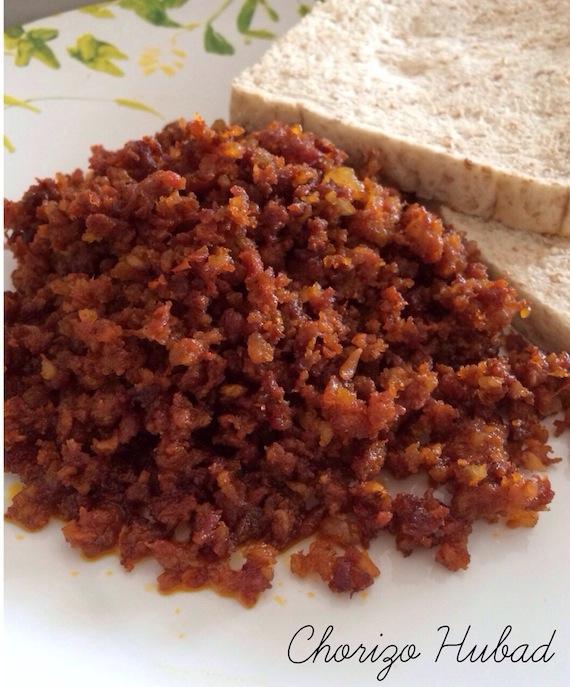 Chorizo Hubad Dumaguete