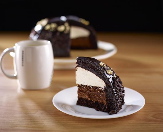 STarbucks hazelnut cake Sheila G