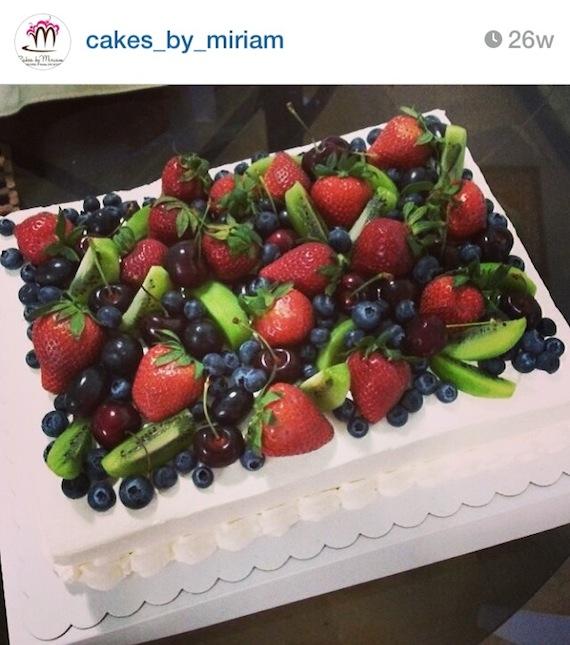 Strawberry Shortcake cake by Miriam (1)
