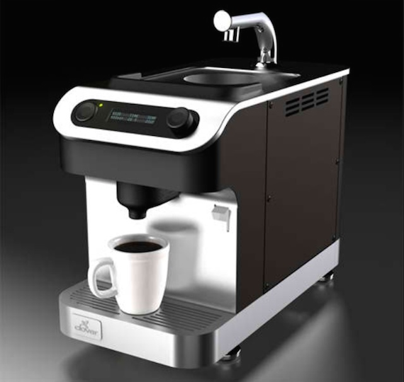 The Clover Brewing System at Starbucks
