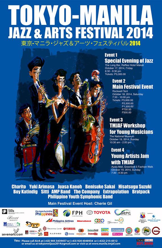 Tokyo Manila Jazz and Arts Festival  2014