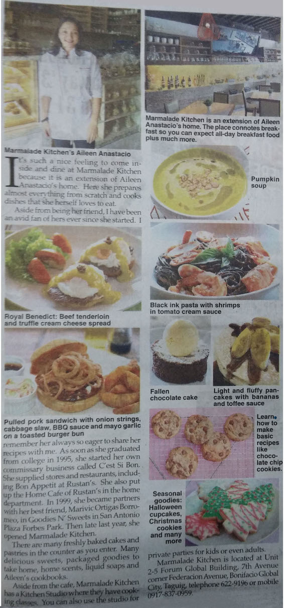 marmalade world by Aileen anastacio phil star sept 2014