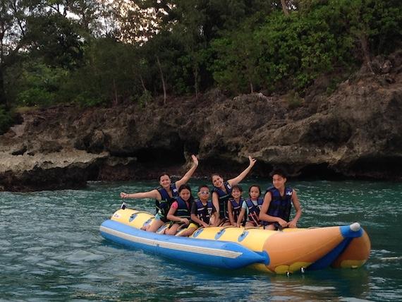 Banana Boat and Zorb Park in Boracay (1)