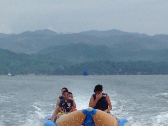 Banana Boat and Zorb Park in Boracay (2)