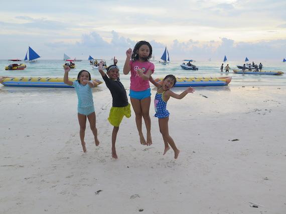 Banana Boat and Zorb Park in Boracay (4)