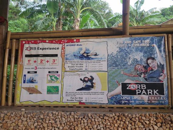 Banana Boat and Zorb Park in Boracay (6)