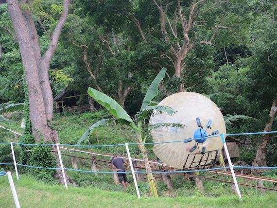 Banana Boat and Zorb Park in Boracay (7)