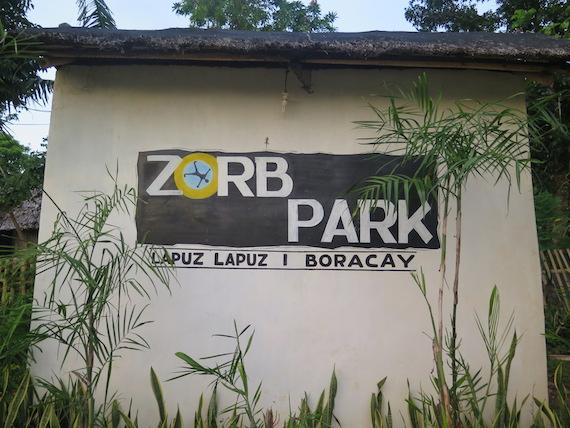 Banana Boat and Zorb Park in Boracay (9)