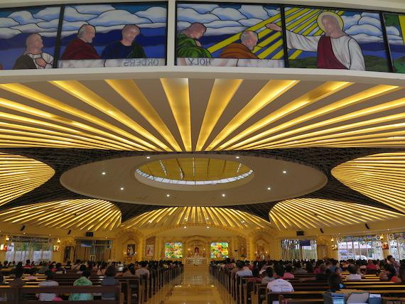 divine mercy chapel interiors