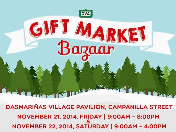 DVA Gift Market Bazaar nov 21 22 2014