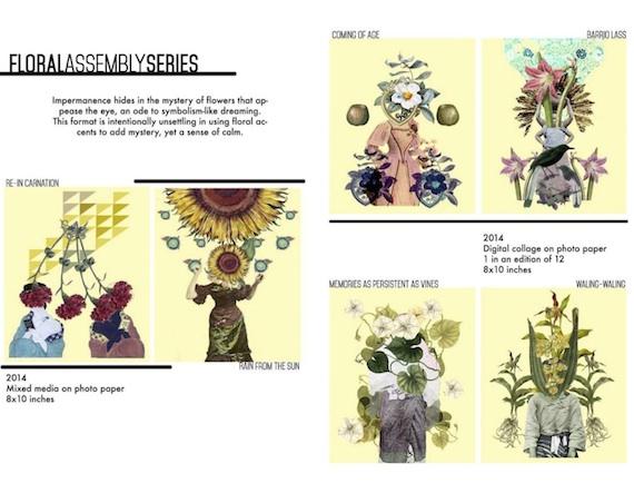 Floral Assembly series jonathan benitez