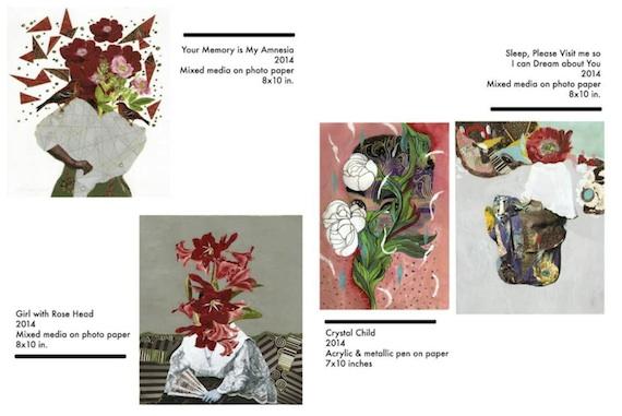 Floral series jonathan benitez novus praeternatura