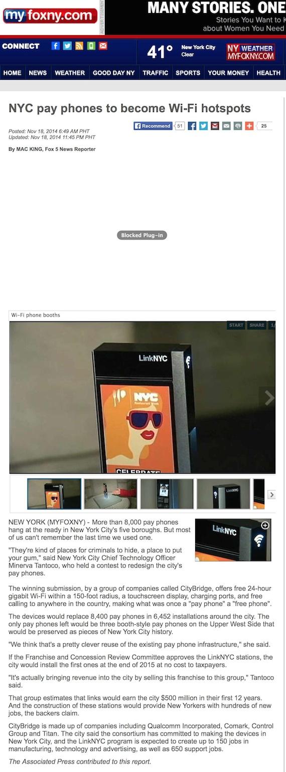 NYC payphones  Minerva tantoco