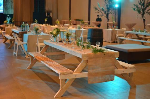 blue leaf filipinas anniv tables