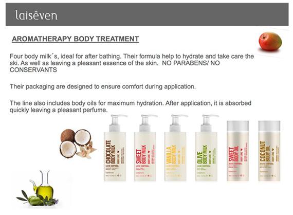 Laiseven Aromatherapy Body milk