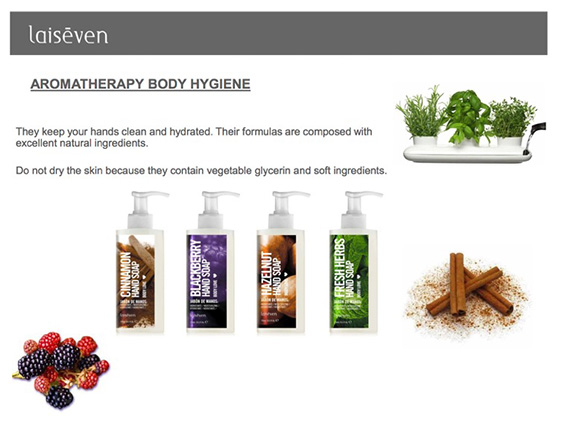 Laiseven Aromatherapy hand soap