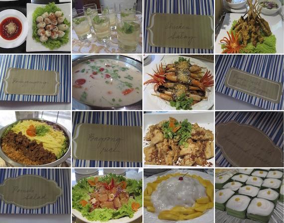 Lew and Ria Thai food