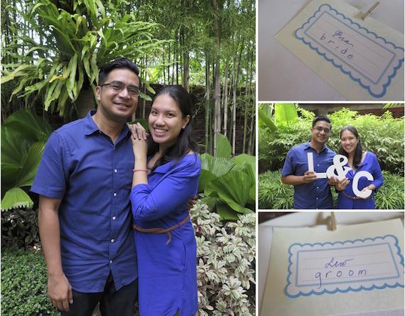 Lew and Ria pre nuptial photos
