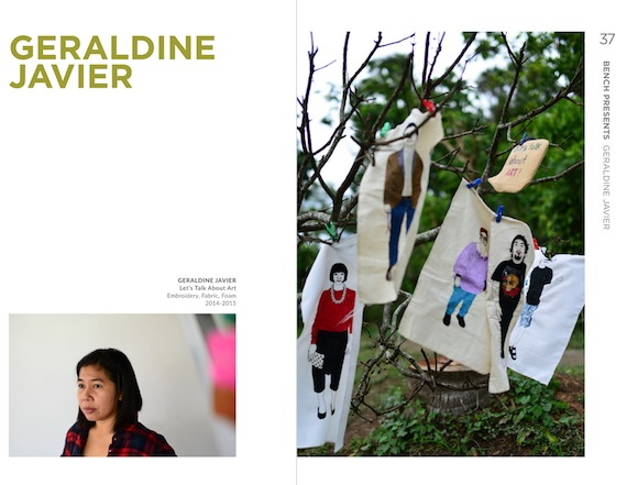 geraldine javier  artfair 2015