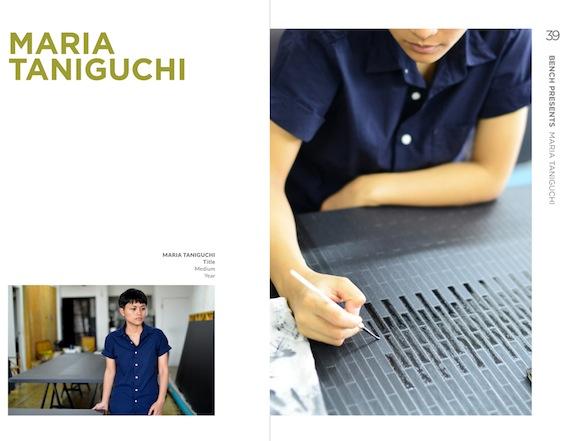 maria taniguchi  artfair 2015
