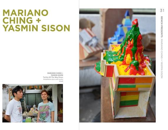 mariano ching and yasmin sison  artfair 2015
