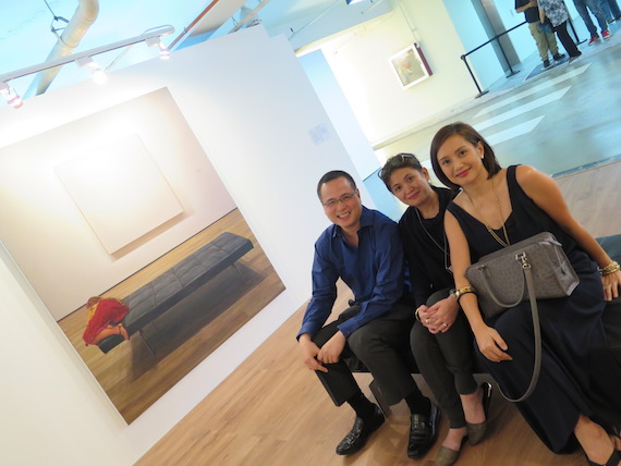 Annie Cabigting at art fair philippines MOMA