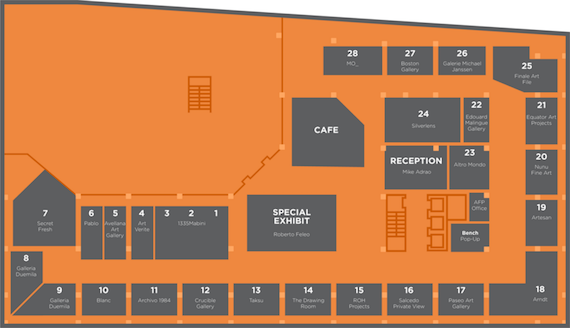 Art fair 2015 layout level 6
