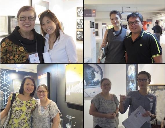Art fair philippines 2015 VIP guests 1