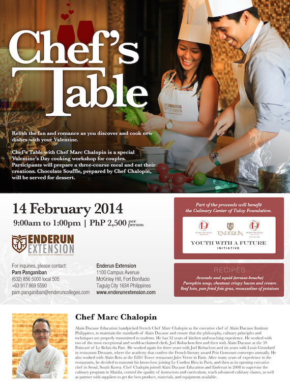 Enderun Extension Chefs Table V1 2015