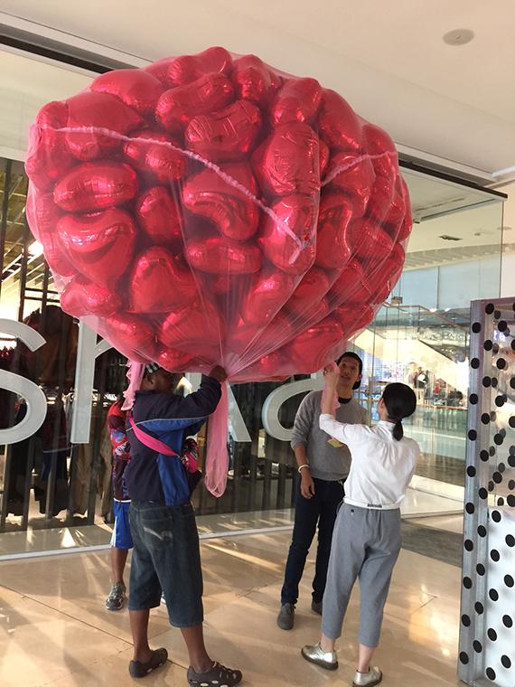 Heart balloons (3)