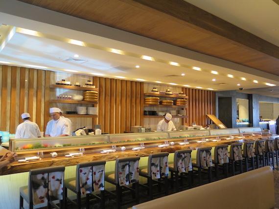 Nobu City of dreams manila sushi bar