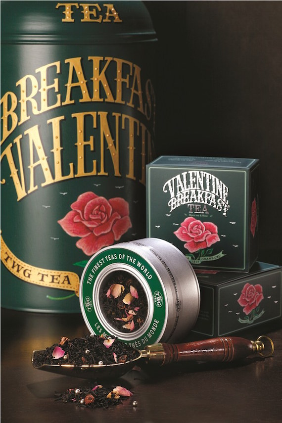TWG Tea Valentines Breakfast Caviar Tin Tea