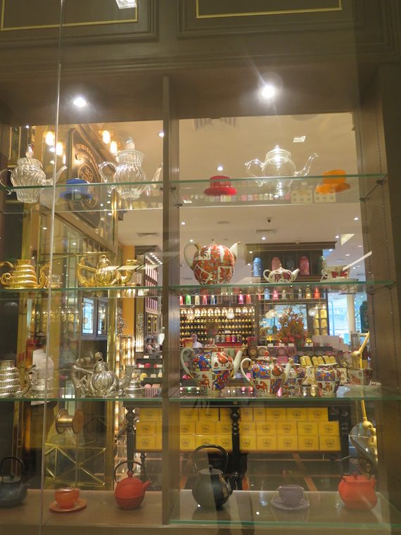 TWG Tea central square window