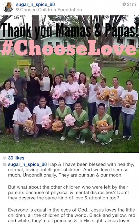 jane go chosen children foundation instagram