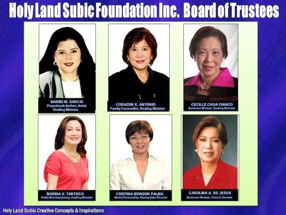 Holy Land Board os Trustees