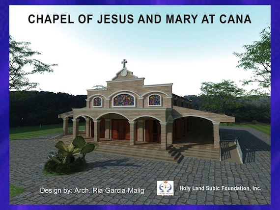 Holy Land Subic Chapel of Jesus and Mary
