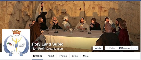 Holy Land Subic Facebook page