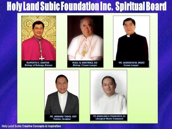 Holy Land spiritual board