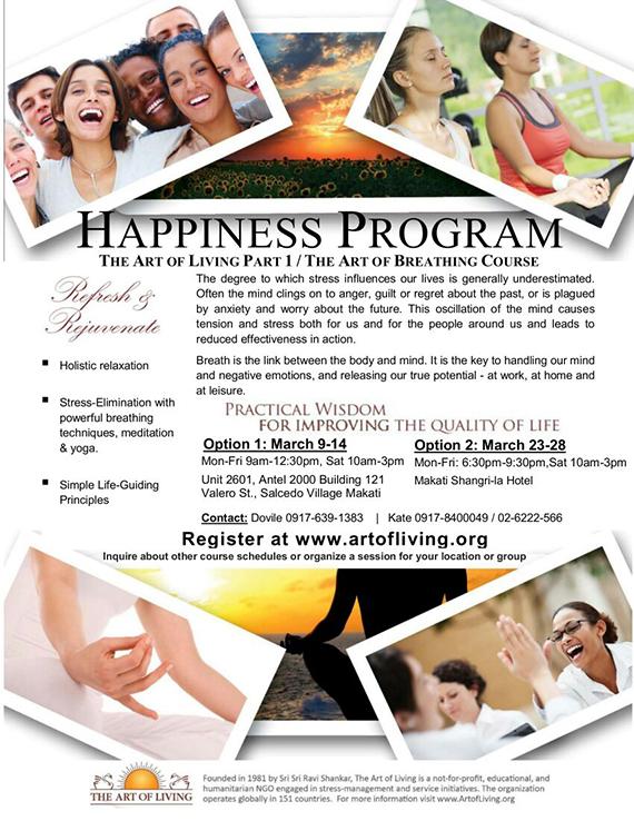 Happiness Program Art of Living