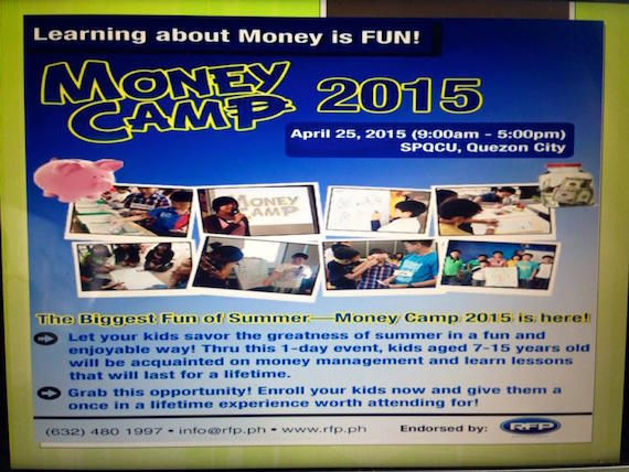 money camp summer 2015