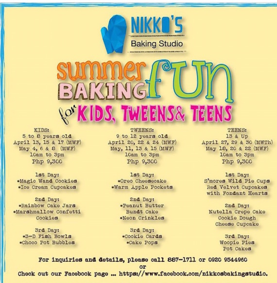 nikkos baking studio summer 2015