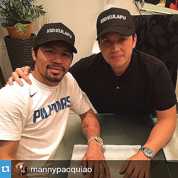 Kid Kulafu Manny pacquiao Director Paul Soriano