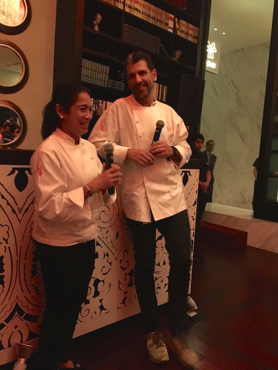 A Marriage of Two Culinary Superstars  (12)