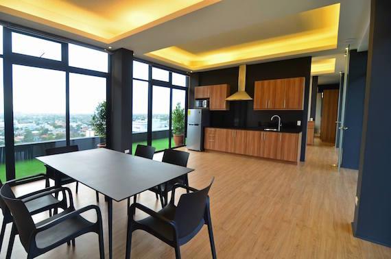 A villa living room dining room Azumi